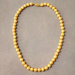 Jewelry - Faux Golden Pearls